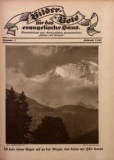 Bilder Bote für das Evangelische Haus, 1931, nr 2