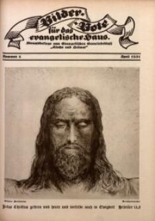Bilder Bote für das Evangelische Haus, 1931, nr 4