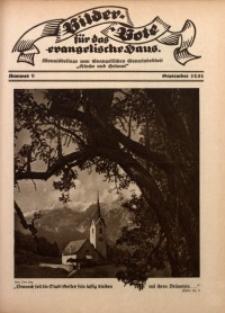 Bilder Bote für das Evangelische Haus, 1931, nr 9