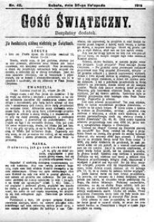 Gość Świąteczny, 1912, R. 10, nr 48