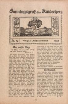 Sonntagsgruß fürs Kinderherz, 1929, Nr. 16