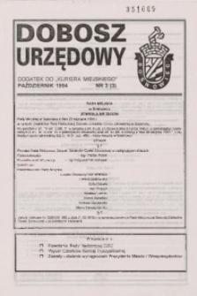 Dobosz Urzędowy, 1994, nr 3 (3) październik