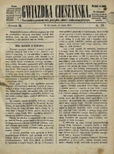 Gwiazdka Cieszyńska, 1893, Nr 28
