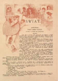 Świat. Dwutygodnik ilustrowany, 1892, R. 5, Nr 3]