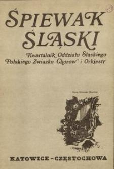Śpiewak Śląski, 1987, R. 23, nr 9