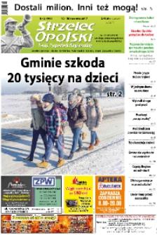 Strzelec Opolski : twój tygodnik regionalny : Strzelce Opolskie, Izbicko, Jemielnica, Kolonowskie, Leśnica, Ujazd, Zawadzkie, Toszek 2017, nr 2 (906).