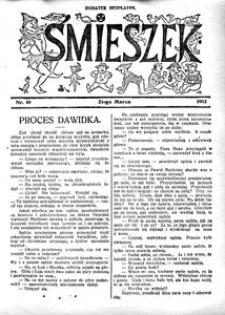 Śmieszek, 1912, nr 10
