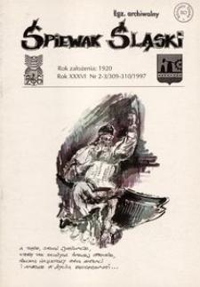 Śpiewak Śląski, 1997, R. 36, nr 2/3