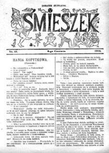 Śmieszek, 1912, nr 21