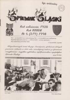 Śpiewak Śląski, 1998, R. 37, nr 6
