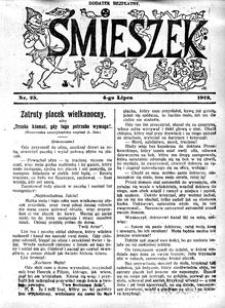 Śmieszek, 1912, nr 25