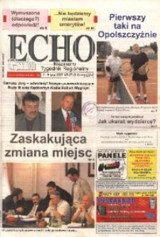 Echo Gmin : niezależny tygodnik regionalny 2007, nr 27 (511).