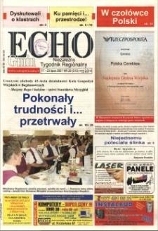 Echo Gmin : niezależny tygodnik regionalny 2007, nr 29 (513).