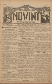 Nowiny, 1915, R. 5, nr 2