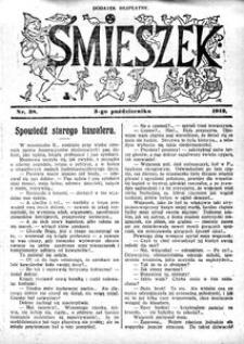 Śmieszek, 1912, nr 38