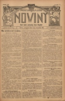 Nowiny, 1915, R. 5, nr 106