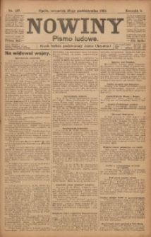 Nowiny, 1915, R. 5, nr 127