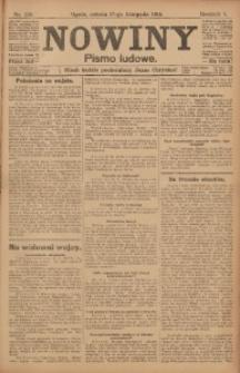 Nowiny, 1915, R. 5, nr 139