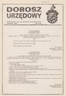 Dobosz Urzędowy, 1996, nr 1 (21)