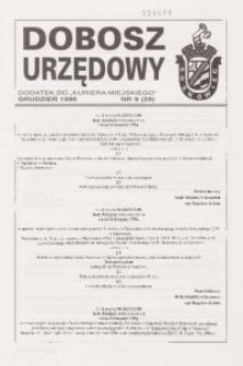 Dobosz Urzędowy, 1996, nr 9 (29)
