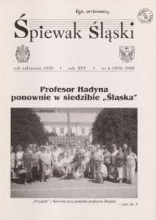 Śpiewak Śląski, 2006, R. 45, nr 4