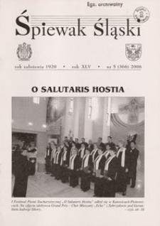 Śpiewak Śląski, 2006, R. 45, nr 5