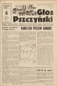 Głos Pszczyński, 1990, nr 5