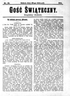 Gość Świąteczny, 1913, [R. 11], nr 48