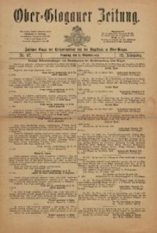 Ober-Glogauer Zeitung, 1920, Jg. 32, Nr. 87