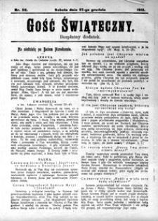 Gość Świąteczny, 1913, [R. 11], nr 52