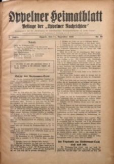 Oppelner Heimatblatt, 1926/1927, Jg. 2, Nr. 19