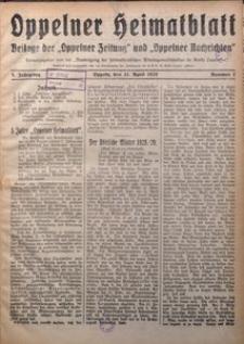 Oppelner Heimatblatt, 1929/1930, Jg. 5, Nr. 1