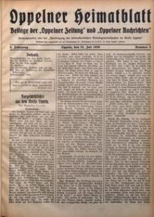 Oppelner Heimatblatt, 1929/1930, Jg. 5, Nr. 4
