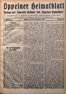 Oppelner Heimatblatt, 1929/1930, Jg. 5, Nr. 6