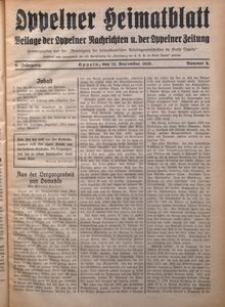 Oppelner Heimatblatt, 1930/1931, Jg. 6, Nr. 6