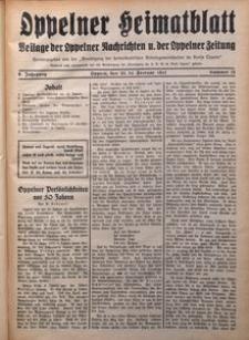 Oppelner Heimatblatt, 1930/1931, Jg. 6, Nr. 11