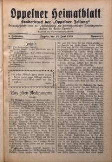 Oppelner Heimatblatt, 1932/1933, Jg. 8, Nr. 3