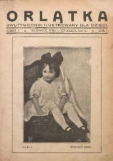 Orlątka, 1927, R. 1, nr 1