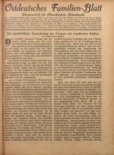 Ostdeutsches Familien-Blatt, 1924, Jg. 1, Nr. 23