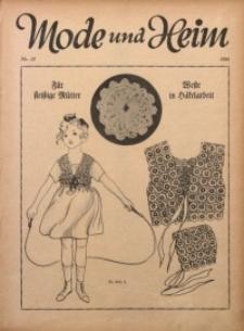 Mode und Heim, 1924, Nr. 13