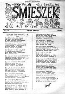Śmieszek, 1913, nr 8