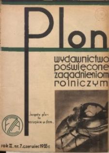 Plon, 1935, R. 2, nr 7