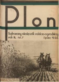 Plon, 1936, R. 3, nr 7