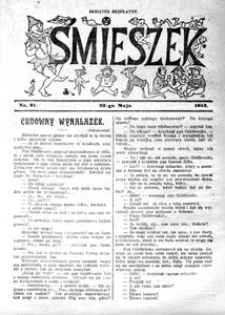 Śmieszek, 1913, nr 21