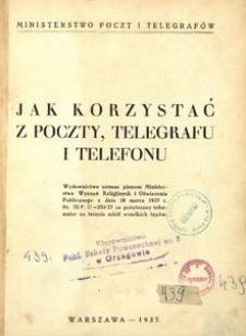 Jak korzystać z poczty, telegrafu i telefonu