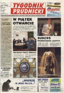 Tygodnik Prudnicki : gazeta lokalna gmin : Prudnik, Biała, Głogówek, Korfantów, Lubrza, Strzeleczki, Walce. R. 13, nr 7 (585).