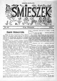Śmieszek, 1913, nr 37
