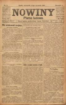 Nowiny, 1916, R. 6, nr 6