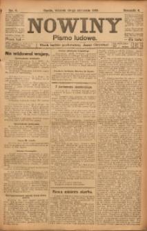 Nowiny, 1916, R. 6, nr 8