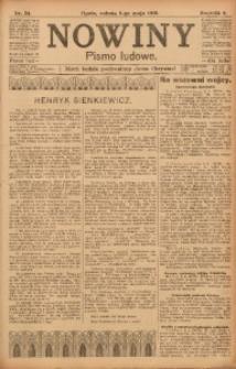 Nowiny, 1916, R. 6, nr 54